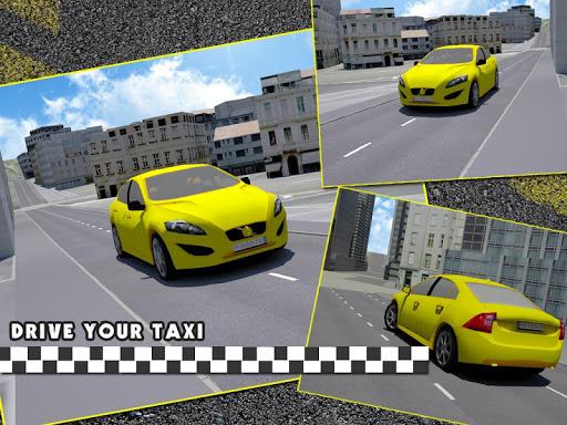 城市出租車司機模擬器