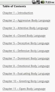 Body Language Guide- screenshot thumbnail