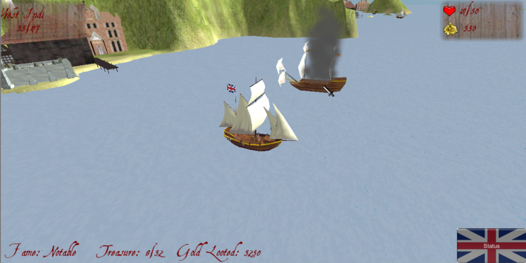 Pirate Sim- screenshot