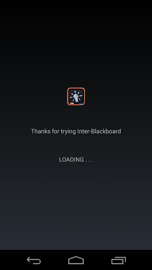 Blackboard Inter