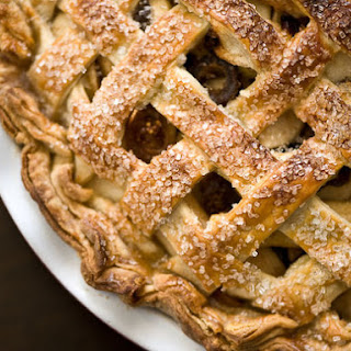 Winter Apple and Dried Fruit Pie