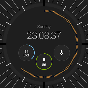 Pujie Black Watch Face Screenshot 38