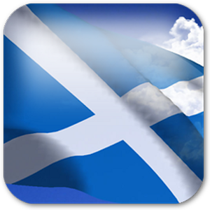 3D Scotland Flag +