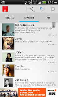 SG Telco Insider - screenshot thumbnail