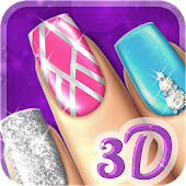 Beauty Nail Salon Game