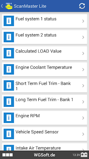 ScanMaster for ELM327 OBD-2 ScanTool  screenshots 6