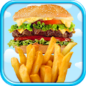 Fast Food Lunch Maker FREE icon