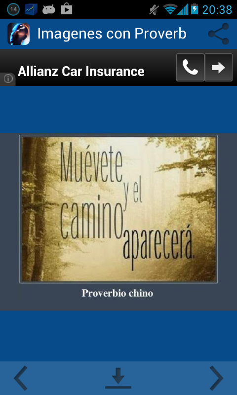 Imagenes con Proverbios - screenshot