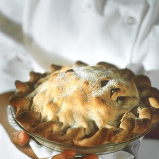 Pear and Dried Cherry Pie