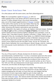Europe Travel Guide Offline - screenshot thumbnail