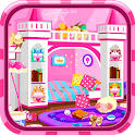 Princess room cleanup icon