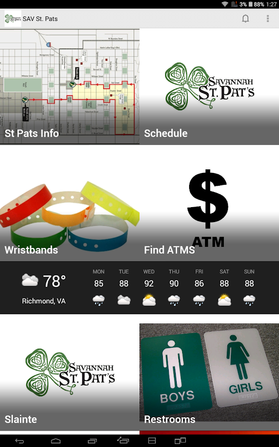 Savannah St. Pats - screenshot