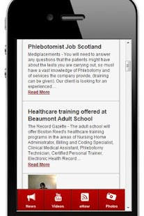 Phlebotomy Training - screenshot thumbnail