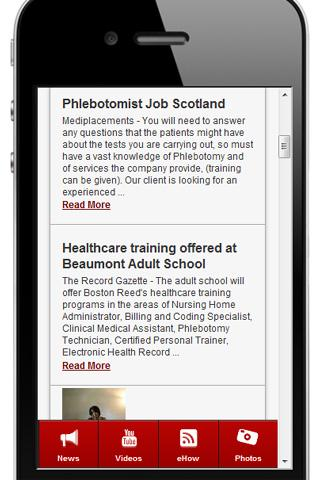 Phlebotomy Training - screenshot