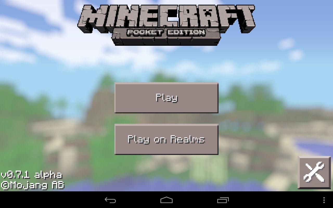 Minecraft PE 0 7 1