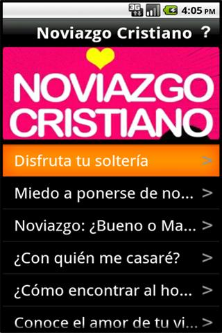Noviazgo Cristiano - screenshot