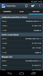 Parkirišča- screenshot thumbnail