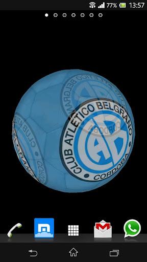 Ball 3D Atlético Belgrano LWP