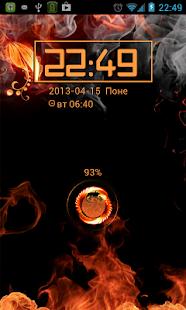 Fire AVEEX GO Locker Theme