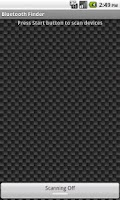Screenshot of Bluetooth Finder
