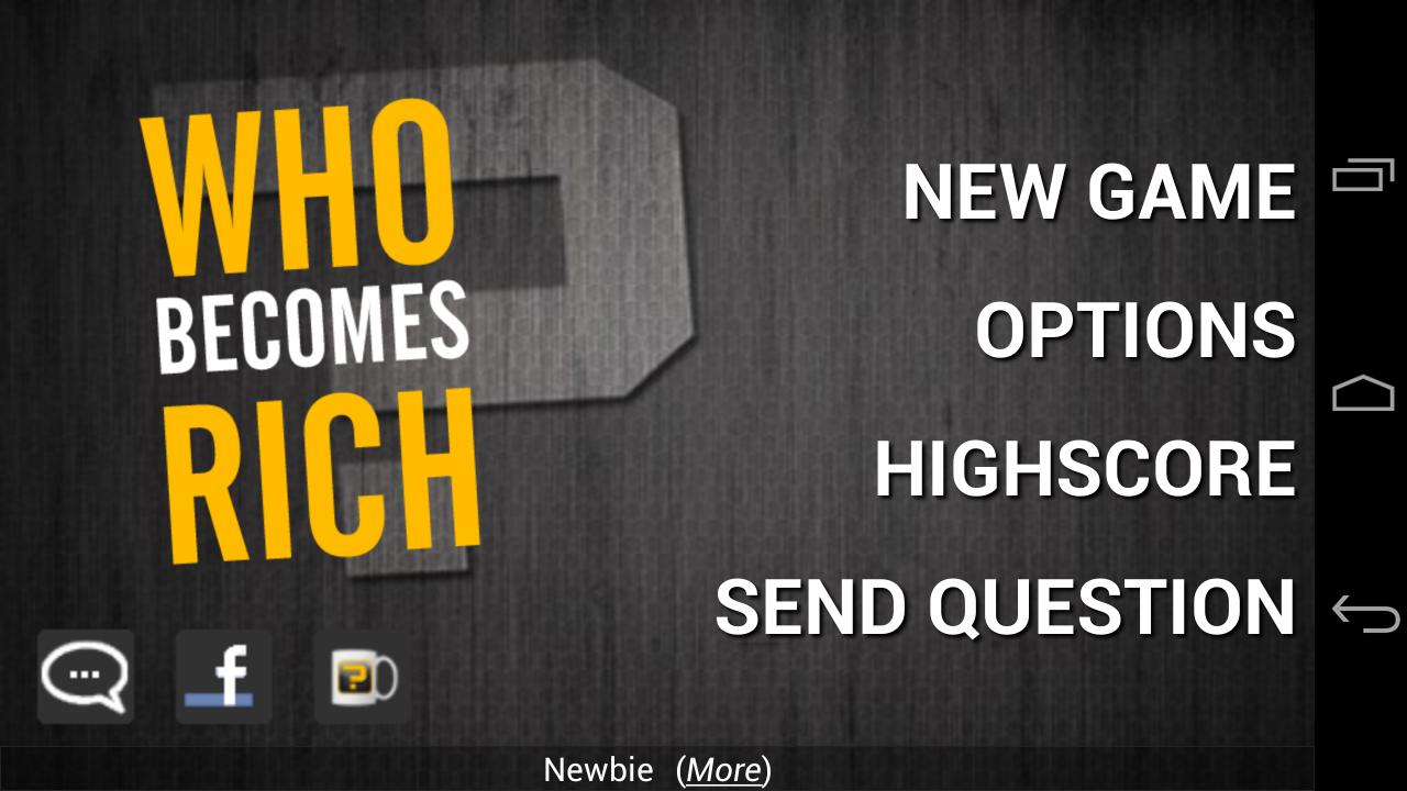 Who Becomes Rich (Trivia Quiz) - screenshot
