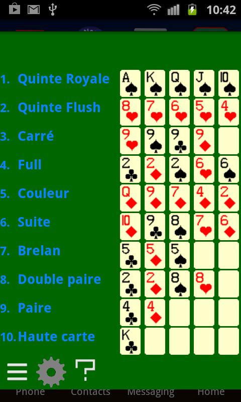 Poker application free