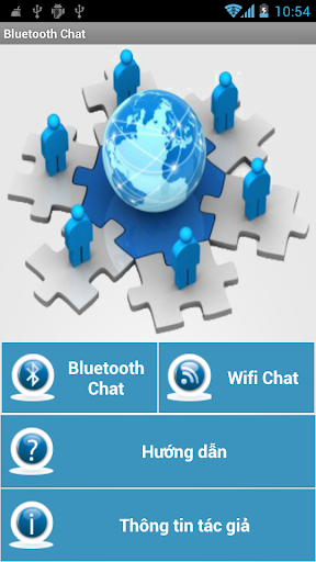 Bluetooth and Wifi Chat TTH