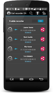 Call Recorder One Touch- screenshot thumbnail
