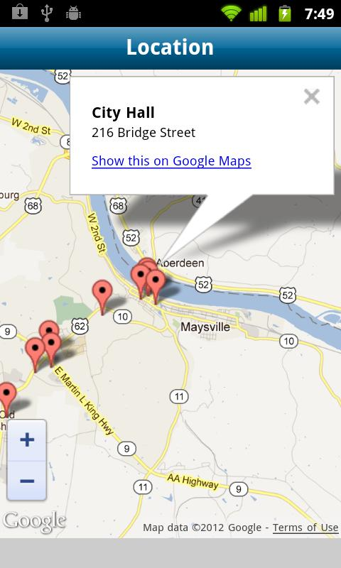 City of Maysville, KY - screenshot