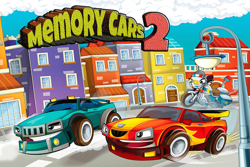 Memory Game about Cars