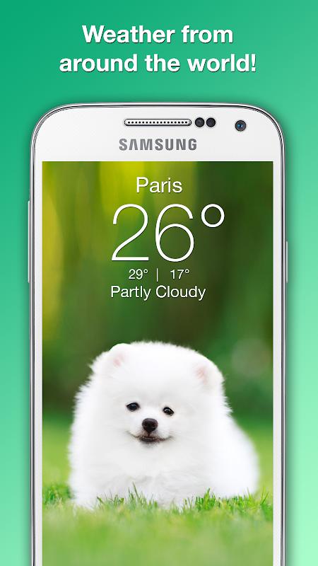 Weather Puppy - Forecast, Radar & Pet Dog Pictures screenshots