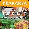 Kur 2013 SMP Kelas 7 Prakarya icon