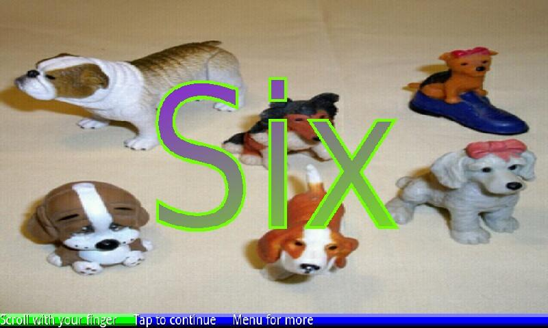 Count Toy Dogs 1-20- screenshot