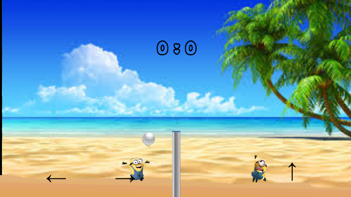 Minion Volleyball