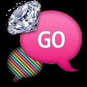 GO SMS - Diamond Rainbows