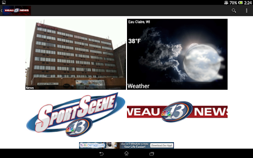 WEAU 13 News - screenshot thumbnail