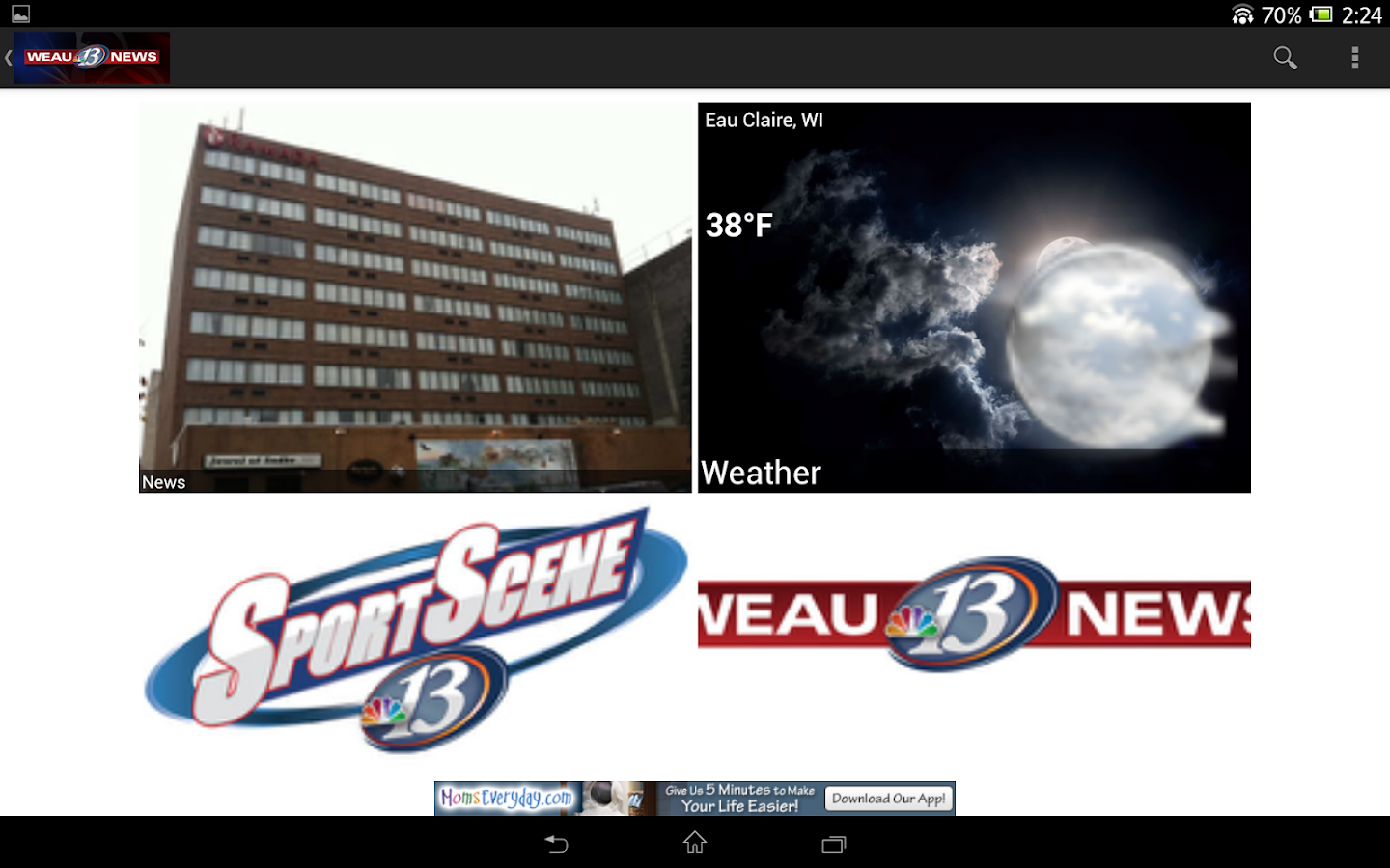 WEAU 13 News - screenshot