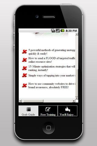 Traffic Overdrive Secrets - screenshot