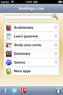 Learn English - Beelingo.com- screenshot thumbnail