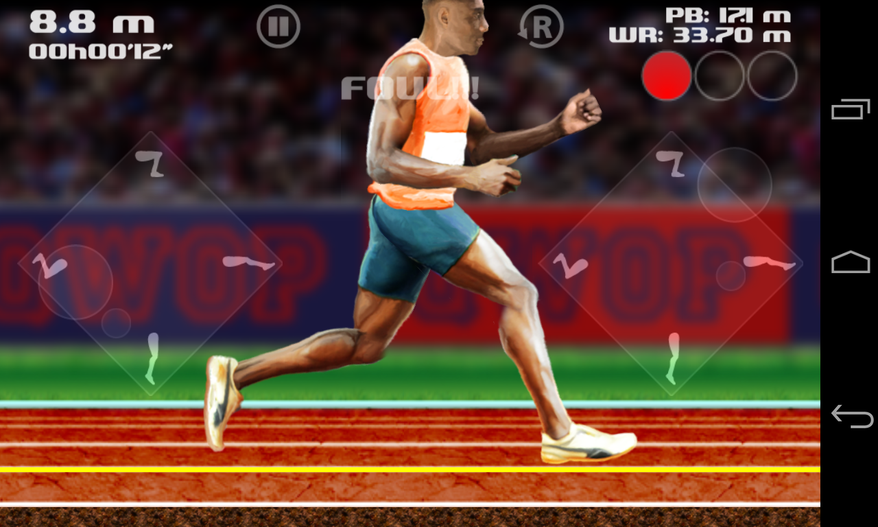 QWOP - screenshot