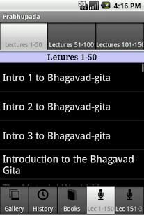 Prabhupada- screenshot thumbnail