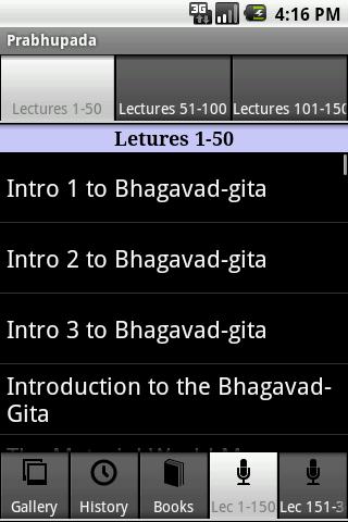 Prabhupada- screenshot