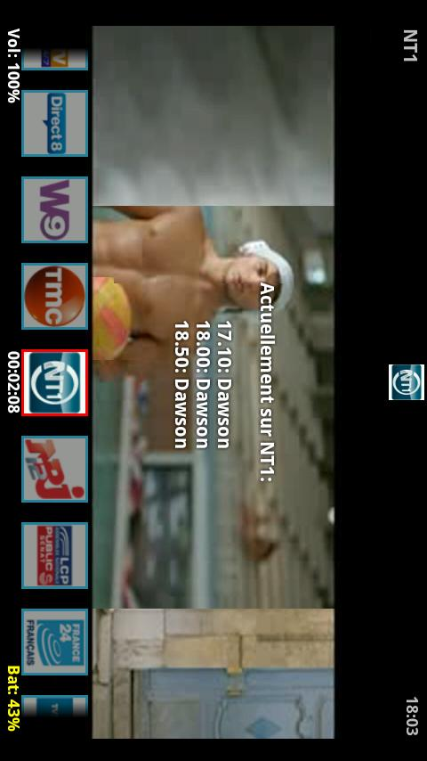 BgTv - (Tv Bouygues Tel.) - screenshot