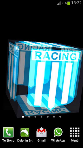 3D Racing Club Fondo Animado