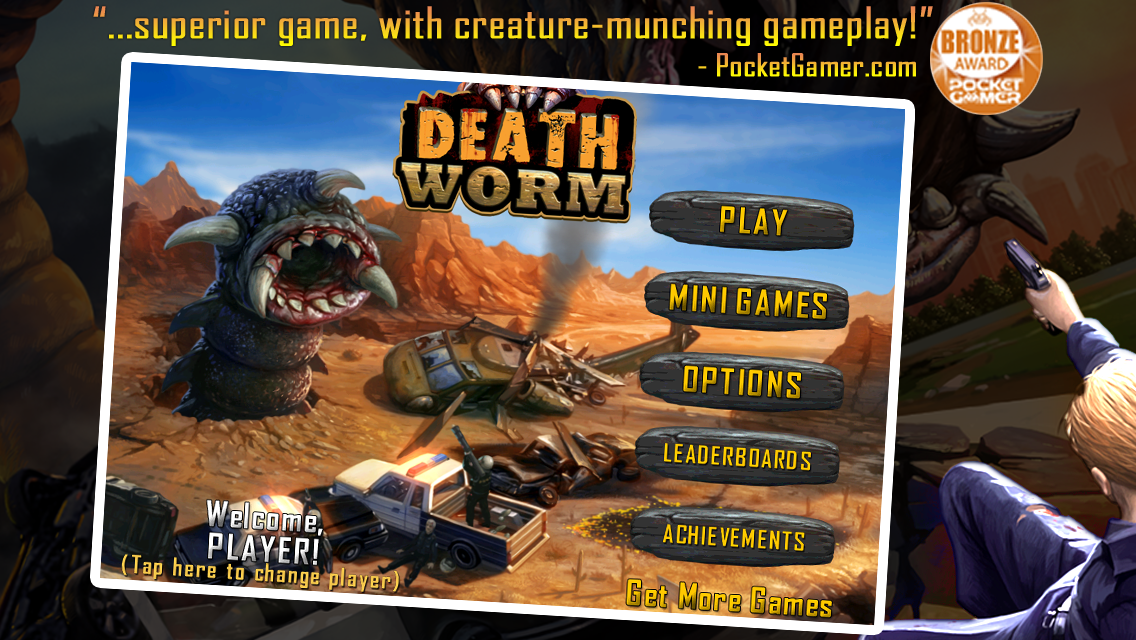 Death Worm Free - screenshot