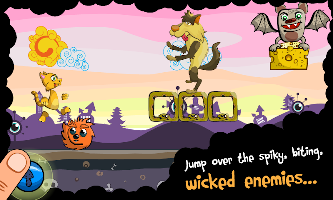Running Kitty Flappy - screenshot