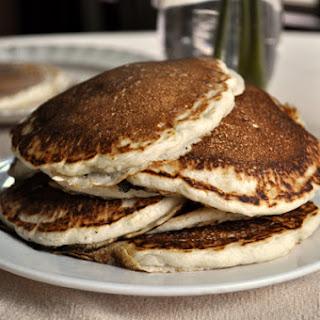Fluffy Vegan Pancakes.