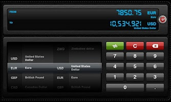 Screenshot of Currency Converter for Tablets