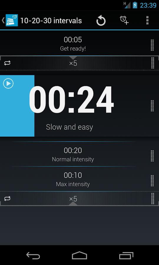 Flow Timer - screenshot