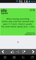 Screenshot of Best Life Hacks Collection